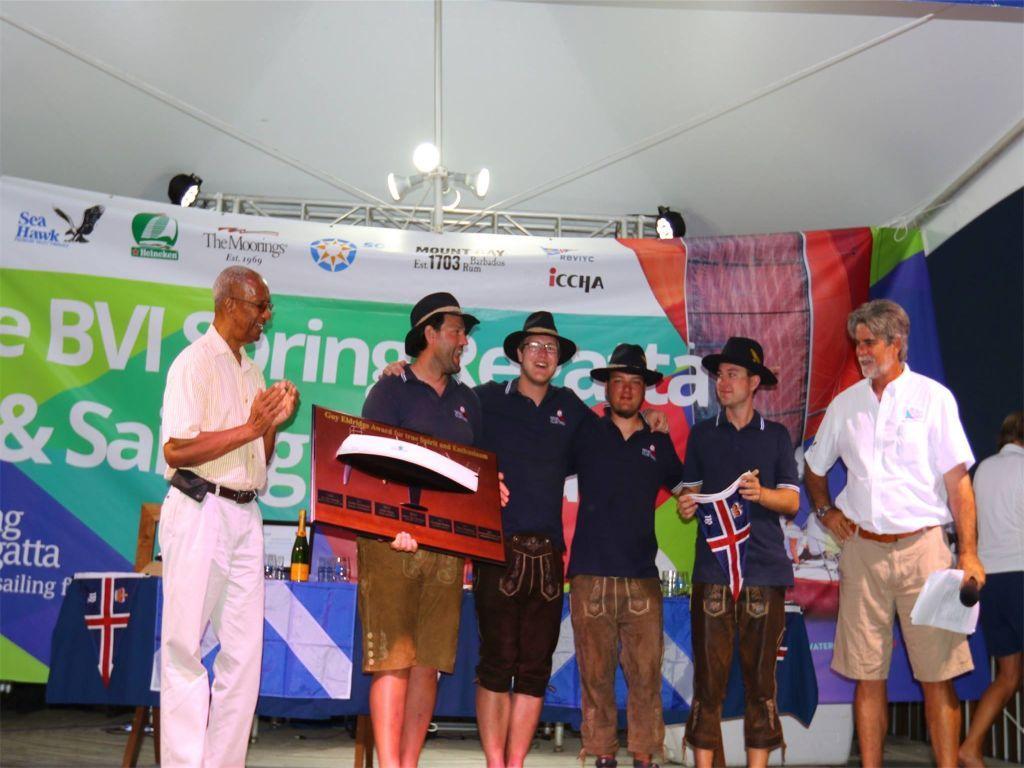 The BVI Spring Regatta and Sailing Festival 2018 BVI Spring Regatta and Sailing Festival