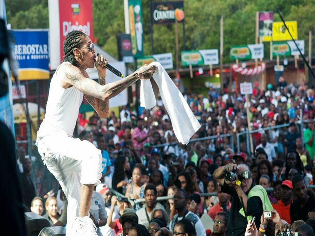 Reggae Sumfest 2018 Sunfest is held on summer in Montego Bay
