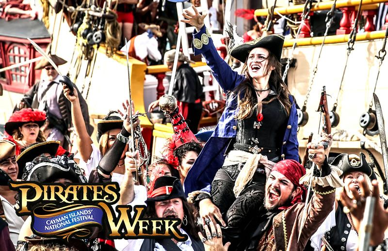 Pirates Week Festival 2018